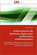 Ordonnanceurs de processus légers pour architectures multiprocesseurs