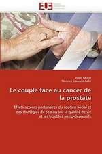 Le couple face au cancer de la prostate