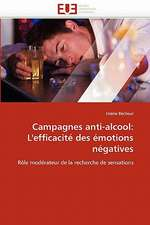 Campagnes anti-alcool: L'efficacité des émotions négatives