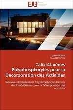 Calix[4]arènes Polyphosphorylés pour la Décorporation des Actinides