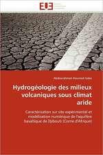 Hydrogéologie des milieux volcaniques sous climat aride