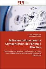 Métaheuristique pour la Compensation de l'Énergie Réactive