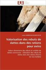 Valorisation des rebuts de dattes dans des rations pour ovins