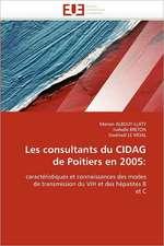Les consultants du CIDAG de Poitiers en 2005