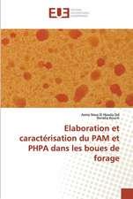 Elaboration et caractérisation du PAM et PHPA dans les boues de forage