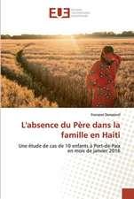 L'absence du Père dans la famille en Haiti
