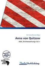 Anna von Quitzow
