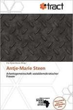 ANTJE-MARIE STEEN