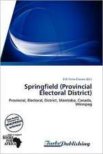 Springfield (Provincial Electoral District)