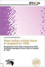 WEST INDIAN CRICKET TEAM IN EN