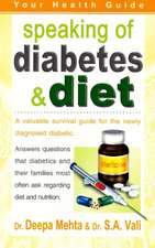 Speaking of Diabetes & Diet: Your Health Guide