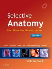 Selective Anatomy Vol 2: Preparatory manual for undergraduates