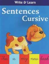 Sentences Cursive