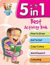 5 in 1 Best Activity Book