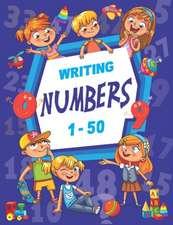 Writing Numbers 1-50