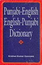 Punjabi/English English/Punjabi Dictionary