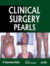 Clinical Surgery Pearls