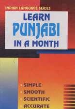 Learn Punjabi in a Month