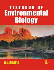 Bhatia, A:  Textbook of  Environmental Biology