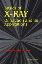 Hebbar, K:  Basics of X-Ray Diffraction and its Applications