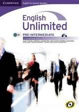 English Unlimited for Spanish Speakers Pre-intermediate Coursebook with e-Portfolio