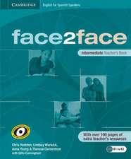 face2face for Spanish Speakers Intermediate Teacher's Book