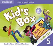 Kid's Box for Spanish Speakers Level 5 Audio CDs (4)