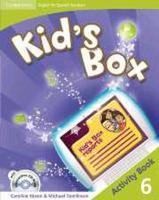 Kid's Box for Spanish Speakers Level 6 Activity Book with CD-ROM and Language Portfolio