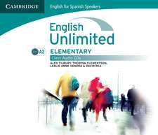 English Unlimited for Spanish Speakers Elementary Class Audio CDs (3)