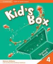 Kid's Box for Spanish Speakers Level 4 Teacher's Book