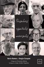 Pensadores españoles universales