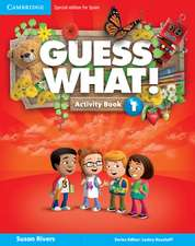 Guess What! Level 1 Activity Book with Home Booklet and Online Interactive Activities Spanish Edition