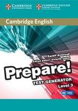 Cambridge English Prepare! Test Generator Level 3 CD-ROM