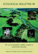Ecological Bulletins: The Use of Population Viability Analyses in Conservation Planning