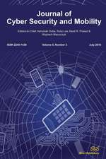 Journal of Cyber Security and Mobility (5-3)