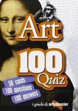 Fossi, G: Arte 100 quiz. Ediz. inglese