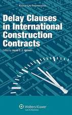 Delay Clauses in International Construction Contracts