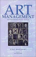 Art Management: Entrepreneurial Style