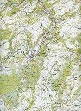 Ourthe & Aisne Touristische Wanderwege  1 : 50 000