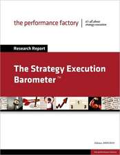 The Strategy Execution Barometer