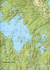 Outdoorkartan Schweden 16 Töcksfors - Arjäng - Nysater 1 : 50 000