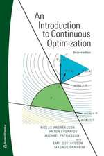 Anintroduction to Continuous Optimization / Second Edition