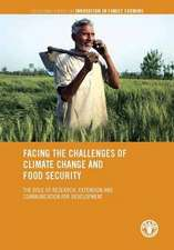 Facing the Challenges of Climate Change and Food Security