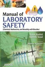 Manual of Laboratory Safety