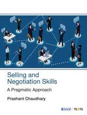 Selling and Negotiation Skills