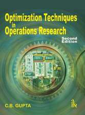 Gupta, C:  Optimization Techniques in Operation Research