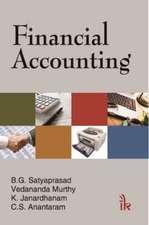 Satyaprasad, B:  Financial Accounting