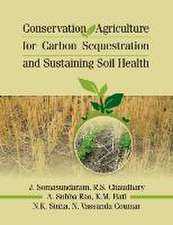 Conservation Agriculture for Carbon Sequestration and Sustainaing Soil Health