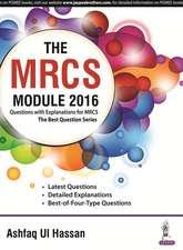 The MRCS Module 2016
