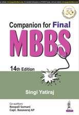 Companion for Final MBBS